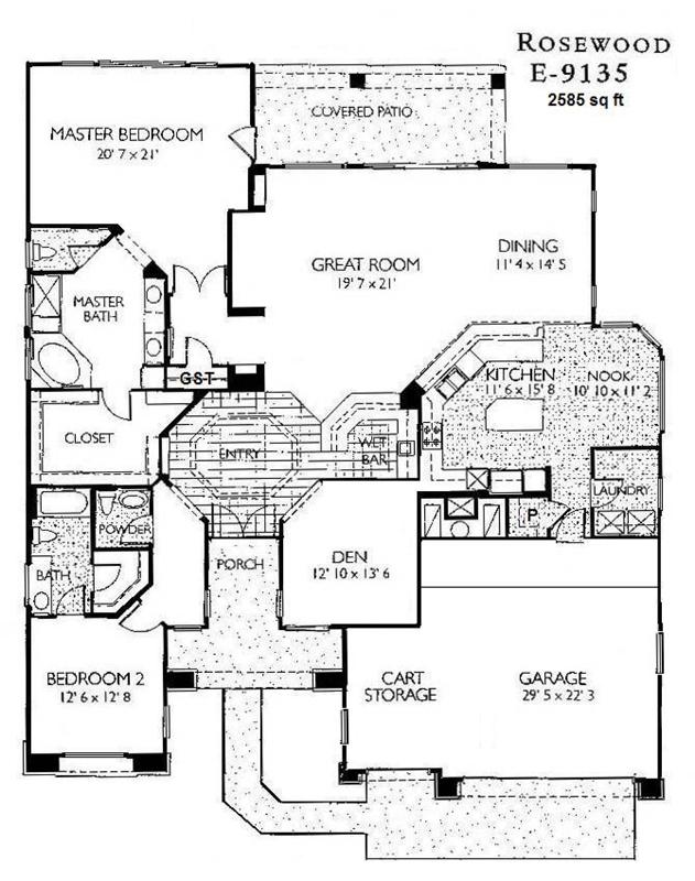 Sage floor plan sun city grand gurus floor for Rosewood house plan